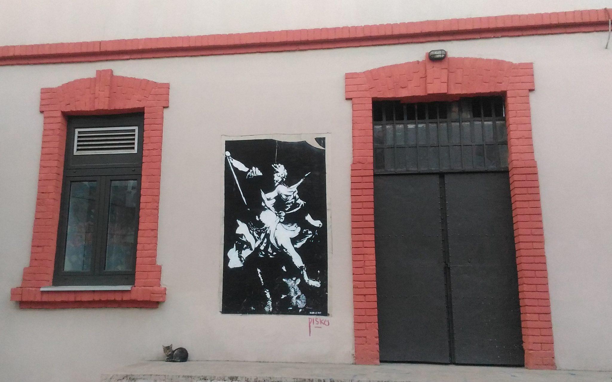 Street-art a Savamala, Belgrado